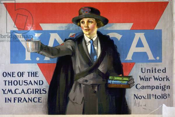 Poster by the United War Work Campaign Nov 1918.