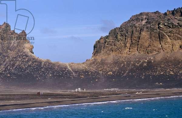 Surreal Antarctic Landscape (photo)