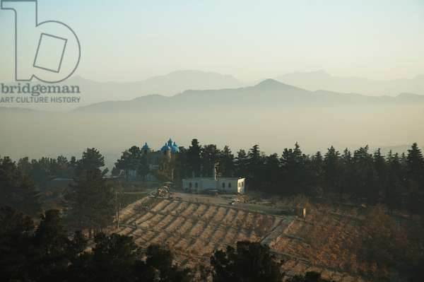 Bagh-I-Bala (High Garden), Built by Amir Abdur Rahman As A Summer Palace in Kabul, Afghanistan (photo)
