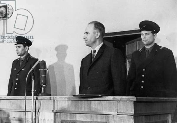 Penkovsky-Wynne Spy Trial, May 1963, Oleg Penkovsky During the Trial Which Began on May 7, 1963.
