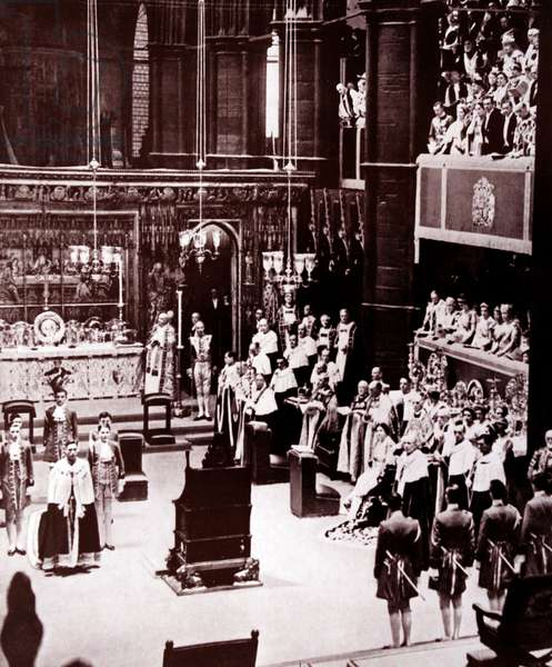 Coronation of King George VI of great Britain, 1937