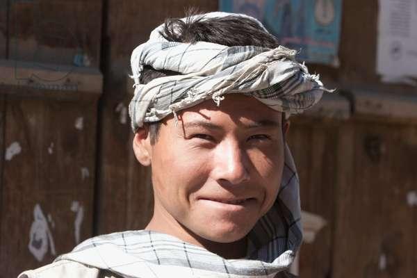 Hazara Boy in Bamiyan, Bamian Province, Afghanistan (photo)