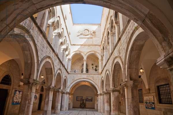 Sponza Palace and Historic Archives, Dubrovnik, Dubrovnik-Neretva, Croatia (photo)