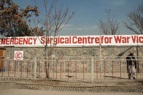 Emergency Surgical Centre For War Victims in Kabul, Afghanistan (photo)