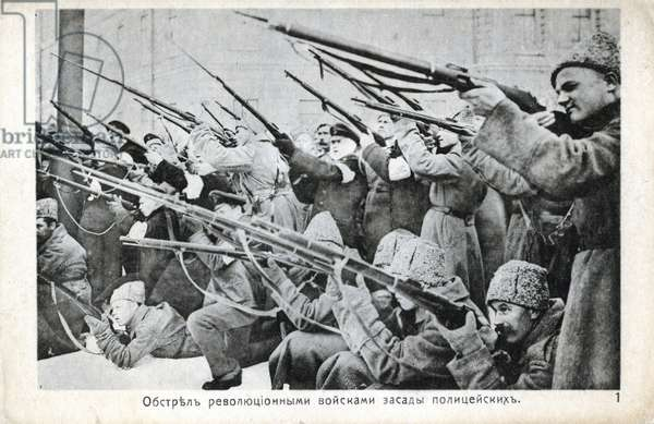 Russian Revolution October 1917: