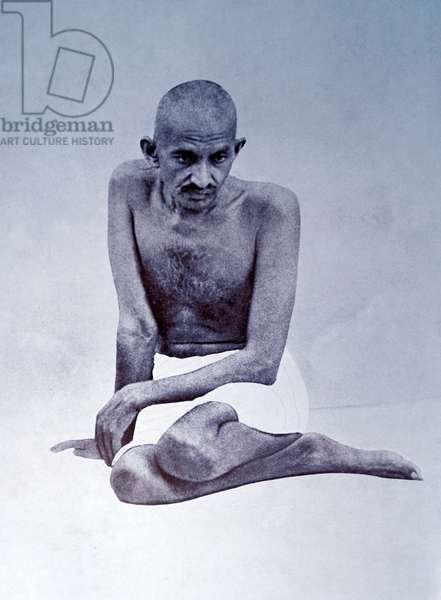 Mahatma Gandhi.
