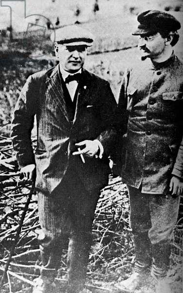 Christian Rakovsky and Leon Trotsky