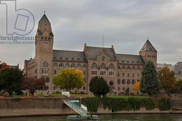 State Archives, Koblenz, Rhineland-Palatinate, Germany (photo)