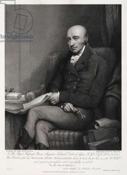 William Hyde Wollaston, English chemist and metallurgist, c 1810s
