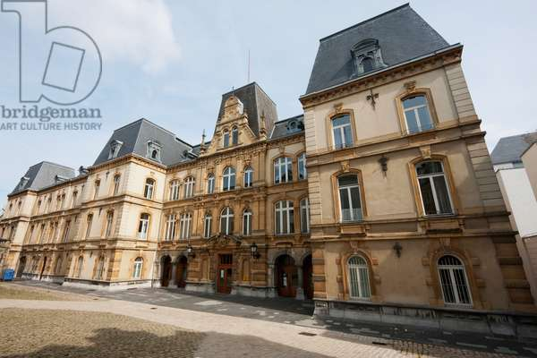 Justice Palace, Luxembourg (photo)