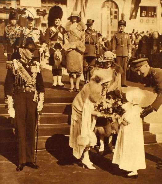 King George VI and Queen Elizabeth visit Australia