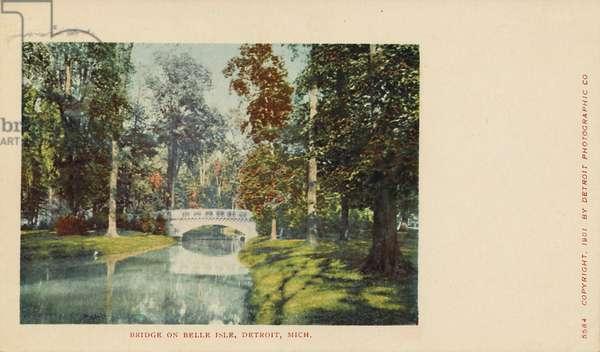 Bridge on Belle Isle, Detroit, Mich