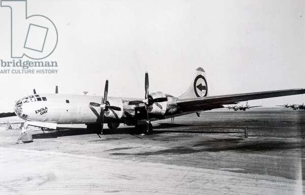 The Enola Gay plane