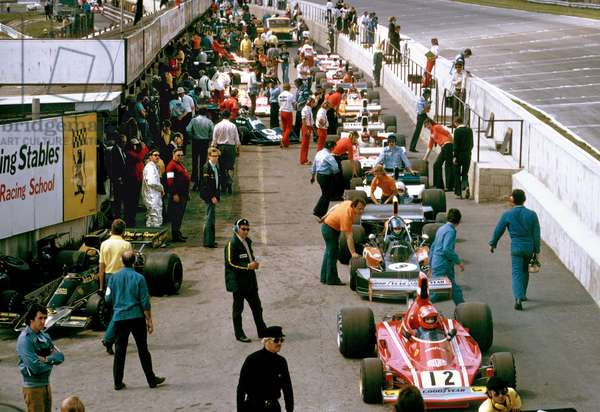 Niki Lauda in Ferrari 312B3 (photo)