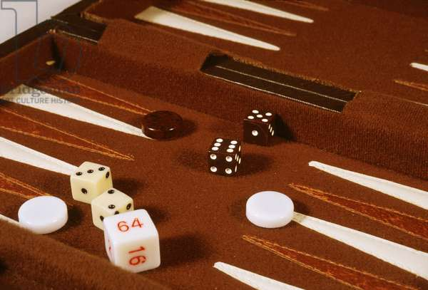 Still-Life: Backgammon Game