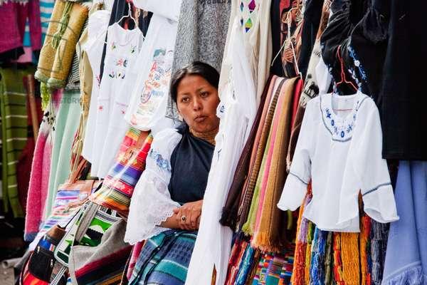 Crafts Market, Cuenca, Azuay, Ecuador (photo)
