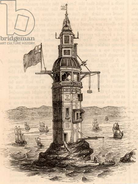 The fourth Eddystone lighthouse