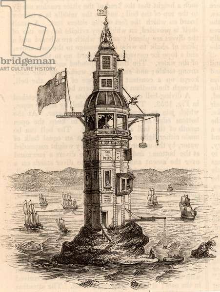 The fourth Eddystone lighthouse