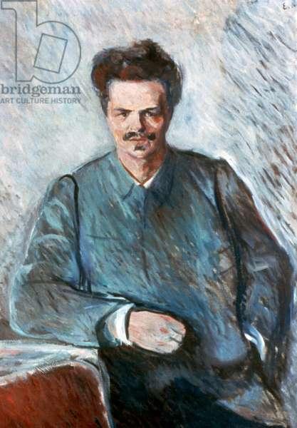 Johan August Strindberg, 1892 (oil on canvas)