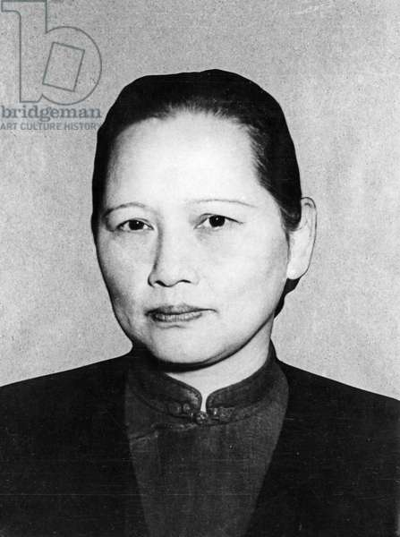 Soong Ching-ling (Madame Sun Yat-sen), Vice-Chairman of the Central People's Government, 1951