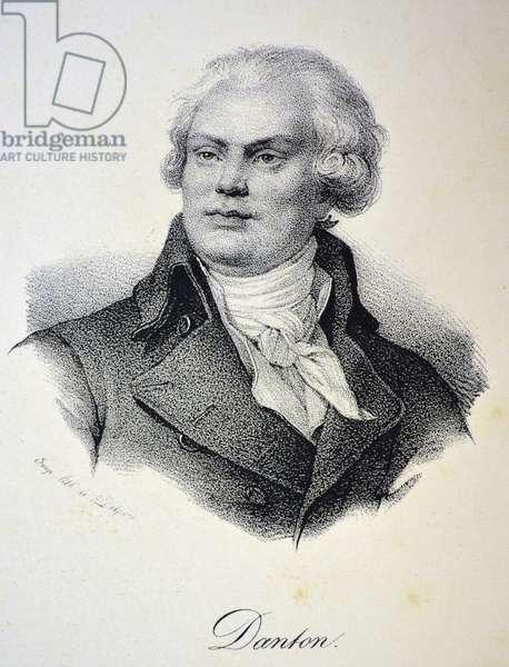 Georges Jacques Danton, 1840 (litho)