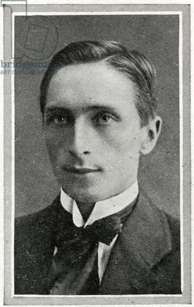 Photograph of W. T. Bralley, a member of the Titanic's band of eight musicians and one of the many men that died at their post when the ship sank on April 15th, 1912.  The band played on until the water was over their feet. Titanic was built by Harland & Wolff in Belfast Ireland during 1910 - 1911 and sank after striking an iceberg off the coast of New Foundland during her maiden voyage from Southampton, England to New York, USA, with the loss of 1,522 passengers and crew. (Photo by Titanic Images/Universal Images Group) Photographie ©UIG/Leemage