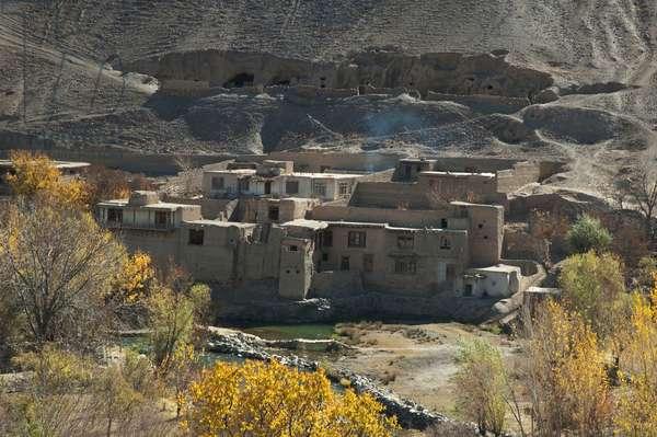 Village in Shekh Ali, Parwan Province, Afghanistan (photo)