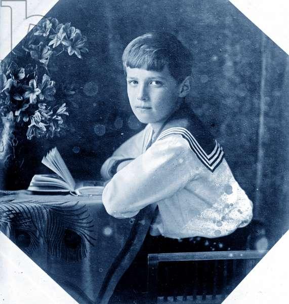 Photograph of Czarevitch Alexei Romanov