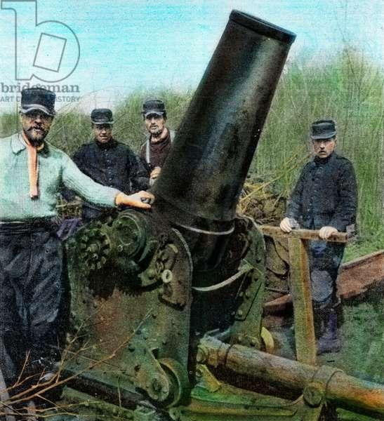 World War One 1914 1918 France at war Artillery post