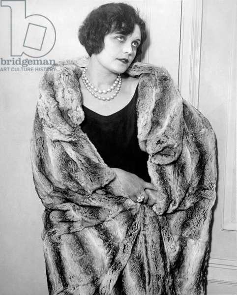 Actress Pola Negri, Hollywood, California, c.1925 (b/w photo)