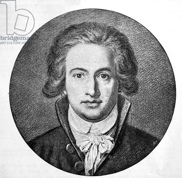 Johann Wolfgang von Goethe 42 years old