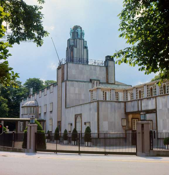 The Stoclet Palace, Brussels, Belgium (photo)