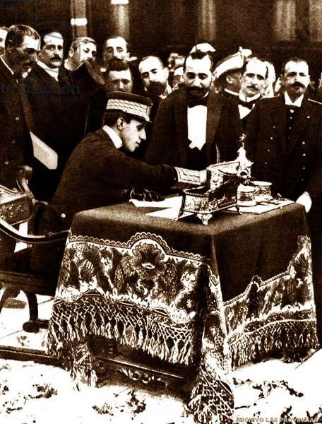 Alfonso XIII, 1906