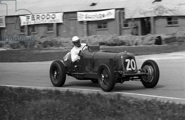 An ERA competing in the Festival of Britain Trophy race (b/w photo)