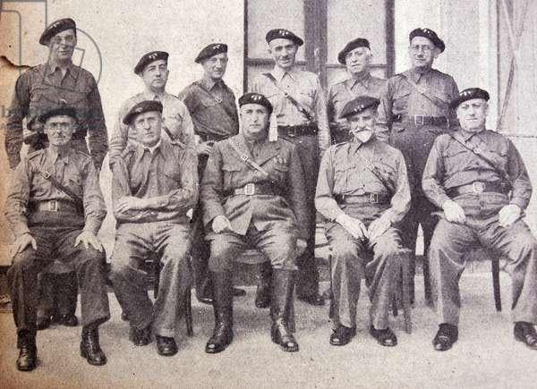 The Carlist leadership in Navarra in Spain during the Spanish Civil War