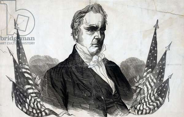 Campaign material for James Buchanan, 1856