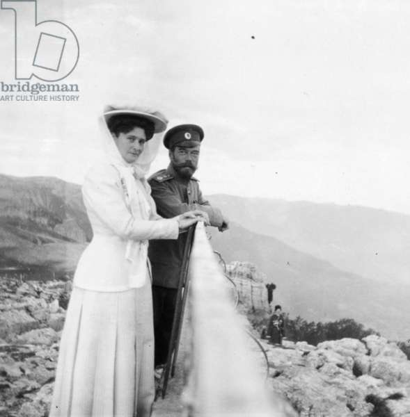 The Royal Couple of Russia, Tsar Nicholas Ll and Tsarina Alexandra Fyodorovna.