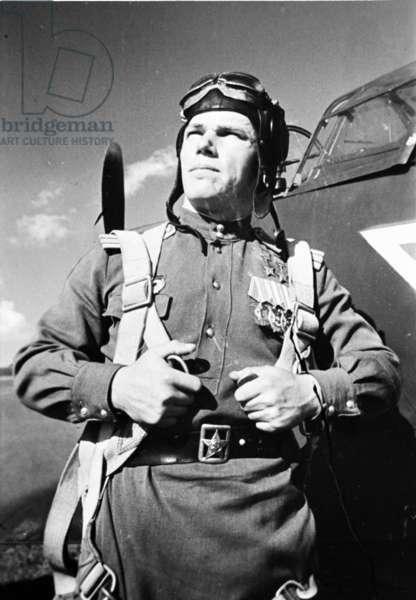 Ivan Kozhedub, Famous World War 2 Soviet Pilot.
