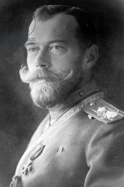 The last Tsar of Russia, Nicholas II, 1910