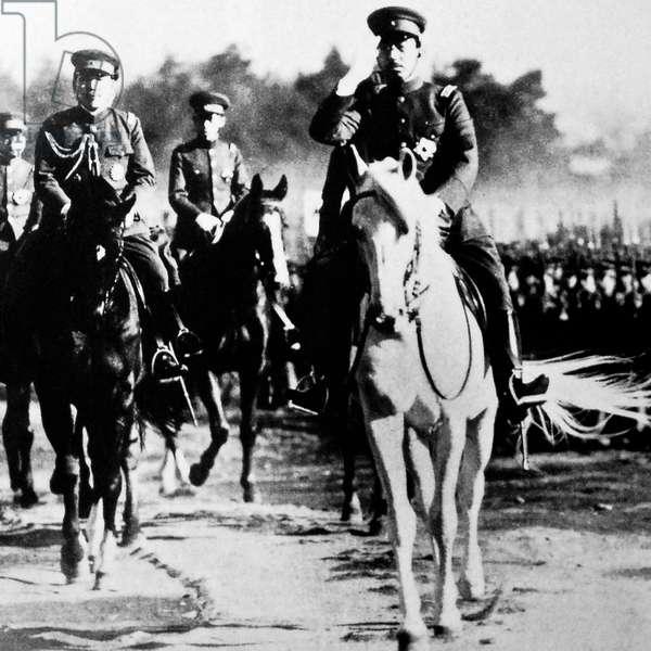 Emperor Hirohito, 1938