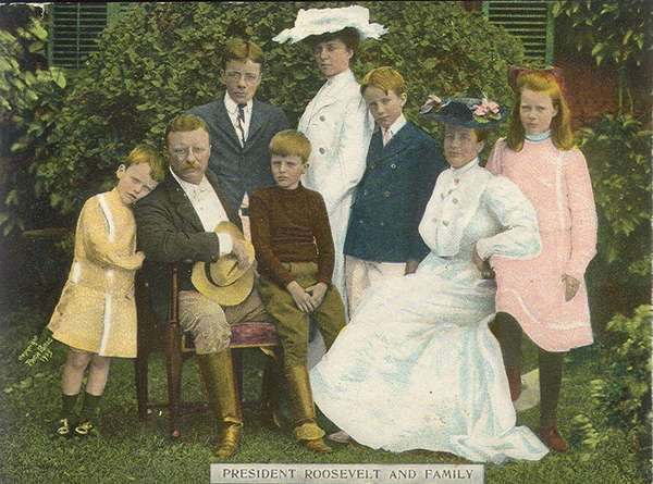 Family Portrait of Theodore Roosevelt, 1906