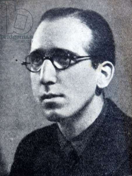 Pablo Ruiz de Aldea head of the Falange in Estella