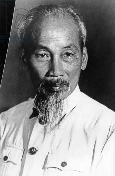 President Ho Chi Minh of the Democratic Republic of Vietnam.