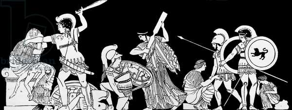 Episode from the Iliad by Homer: Priam King of Troy seeks revenge