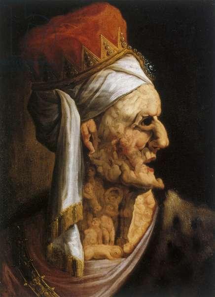 'Herod' king of the Jews (oil on wood)