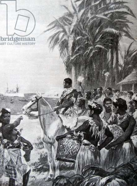 Surrender of the Tonga or Friendly Islands