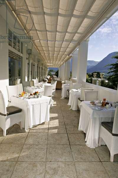 La Residence luxury 5 star hotel, Fanschhoek, South Africa (photo)