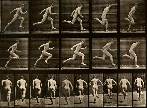 A man running, 1887