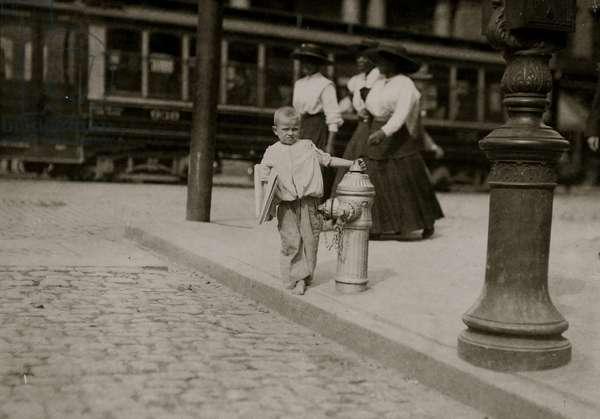 Willie ---, a Richmond, Va. newsboy. 1911 (photo)