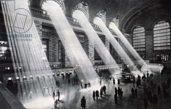 The hall of Grand Central Station